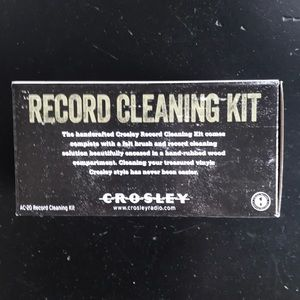 Crowley Record Cleaning Kit